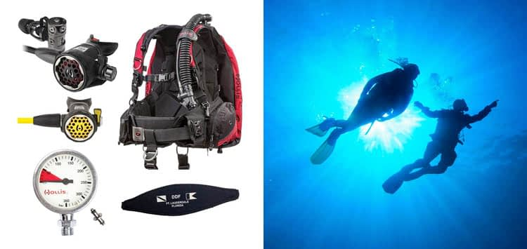 Hollis HD200 Complete Scuba Package