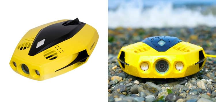 CHASING Dory World's Smallest and Affordable 5-Thruster Palm-Sized Underwater Drone