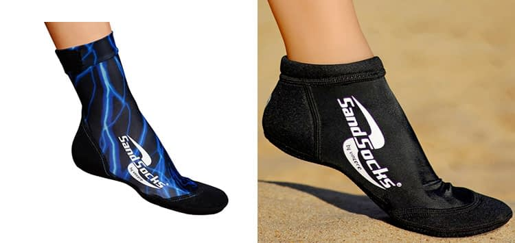 Sand Socks for Beach Soccer, Sand Volleyball and Snorkeling
