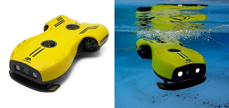 Nemo Underwater Drone with 4K UHD Camera and LED Fill Light