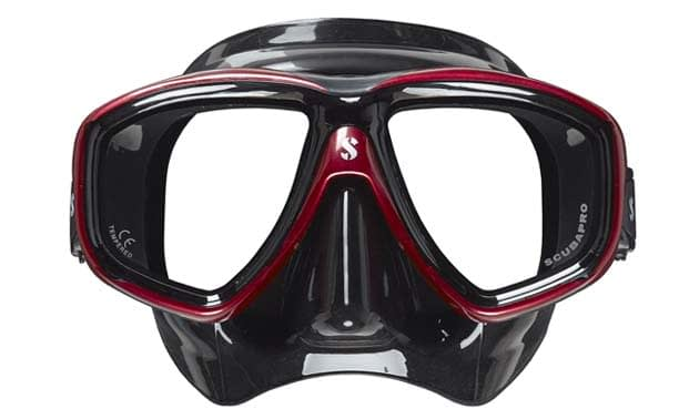 Scubapro Flux Twin Dual Lens prescription Mask