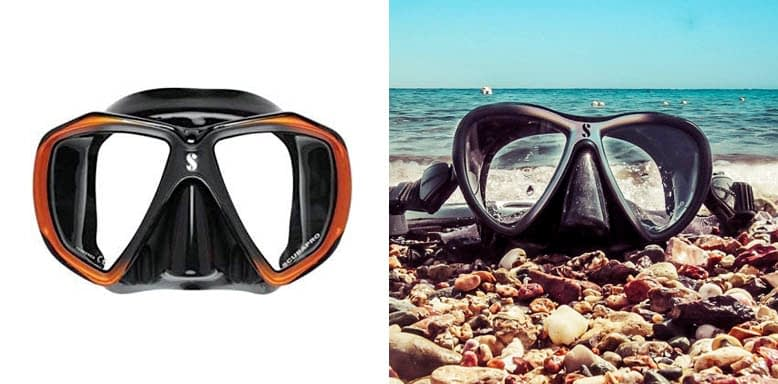 Scubapro Spectra Low Volume 2 Window Dive Mask