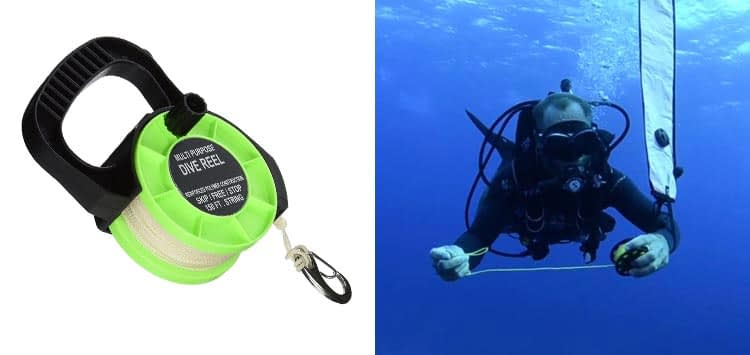 Scuba Choice Scuba Diving Multi Purpose Dive Reel 150