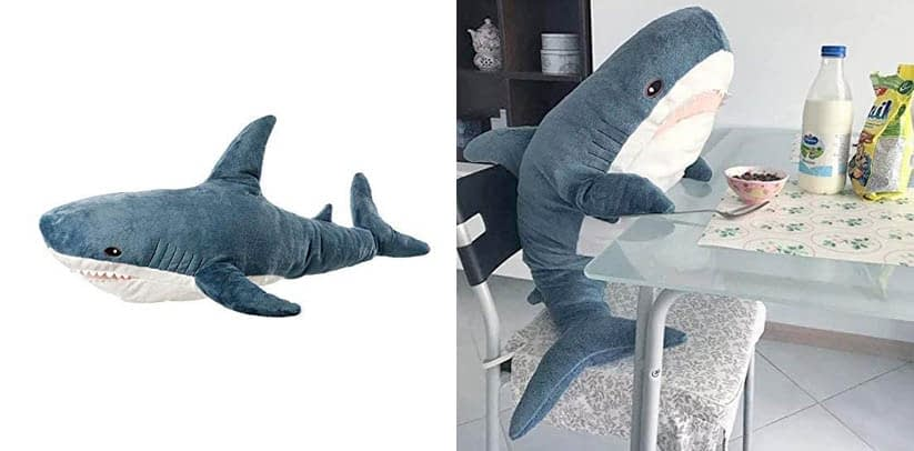 AFYBL 39.4 inch Shark Giant Stuffed Animal Toy