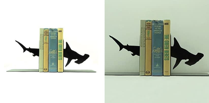 Frog Studio Home Hammerhead Shark Bookends