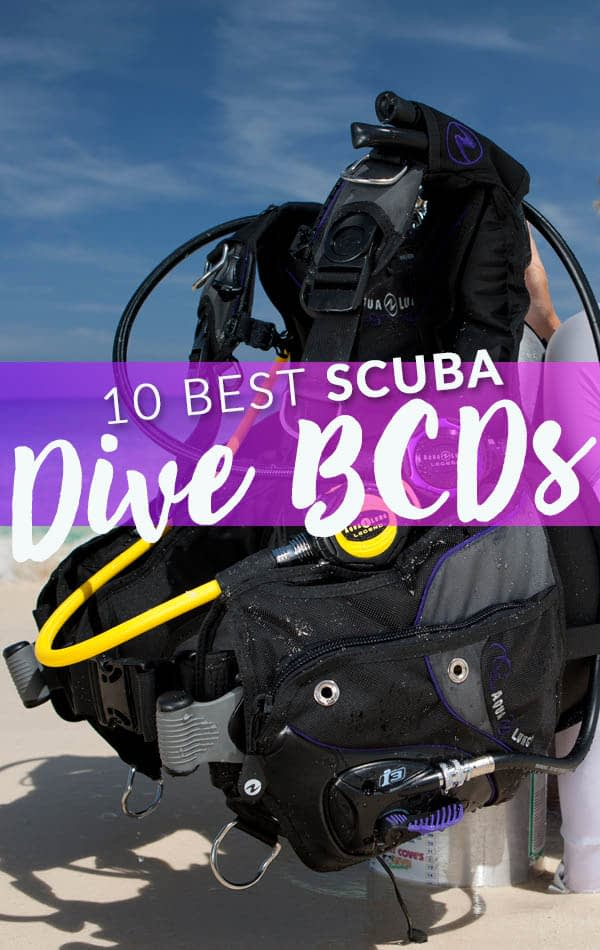 10 Best Scuba Dive BCDs Side Banner