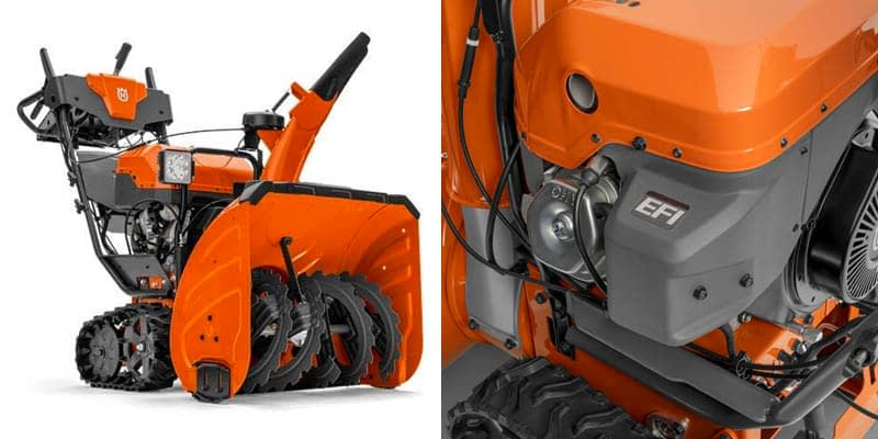 Husqvarna ST427T 369cc Two-Stage Track Drive Snow Blower