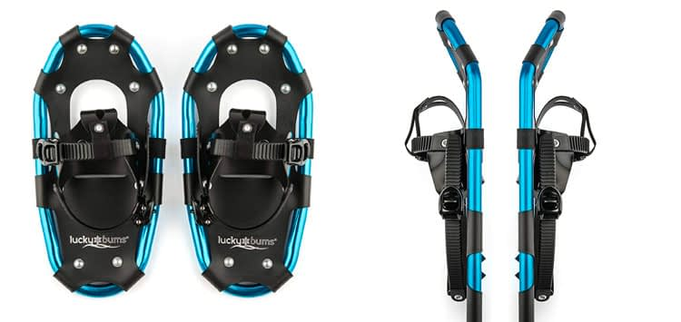 6. Lucky Bums Youth and Adult Snow Shoes
