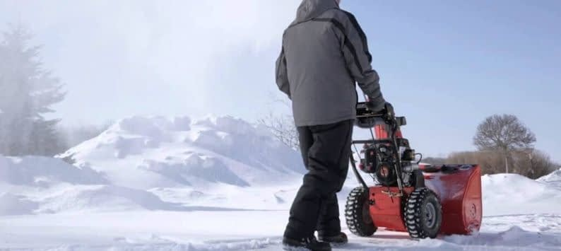 Be Mindful of Where You'll Be Using Your Snow Blower