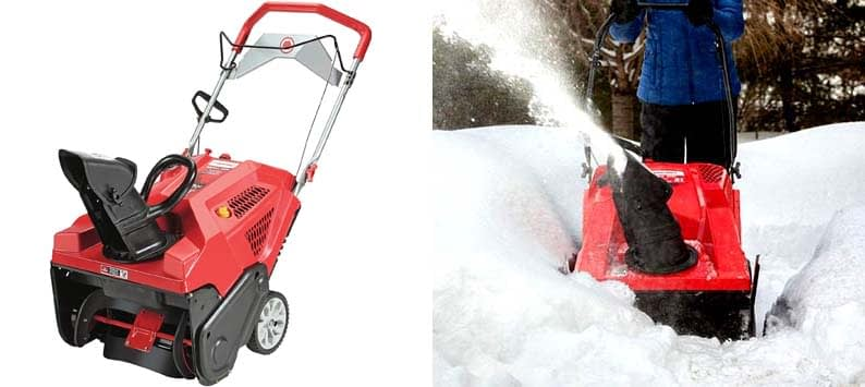 Squall 208cc Single Stage Snow Thrower