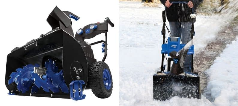 Snow Joe iON8024-CT 80-Volt iONMAX Cordless Two Stage Snow Blower