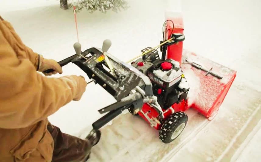 Using a Ariens Compact Snow Blower