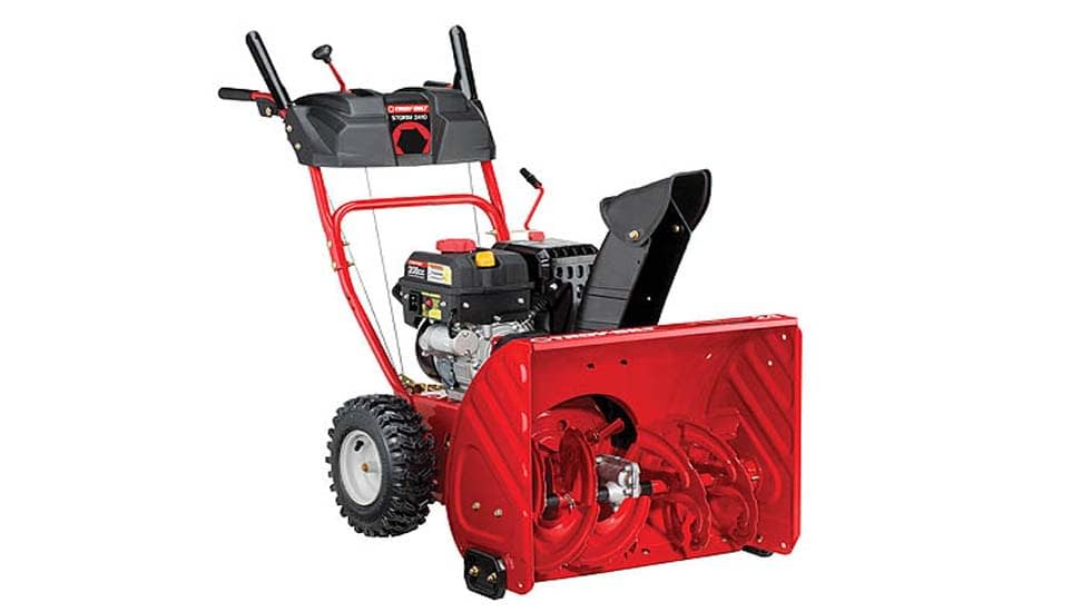 Troy-Birt STORM 2410 Stage-Two Snow Blower Review