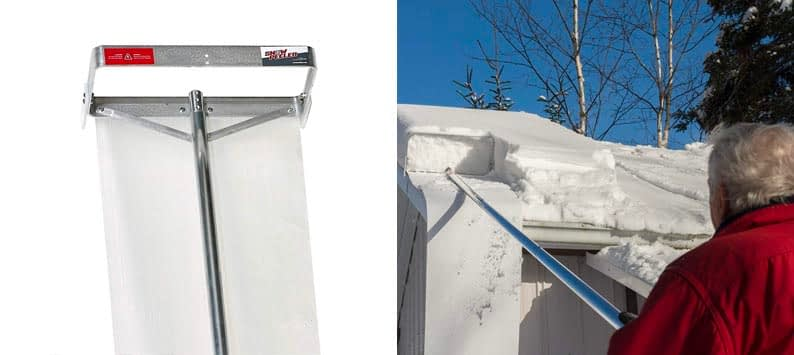 SNOWPEELER Roof Snow Removal Tool
