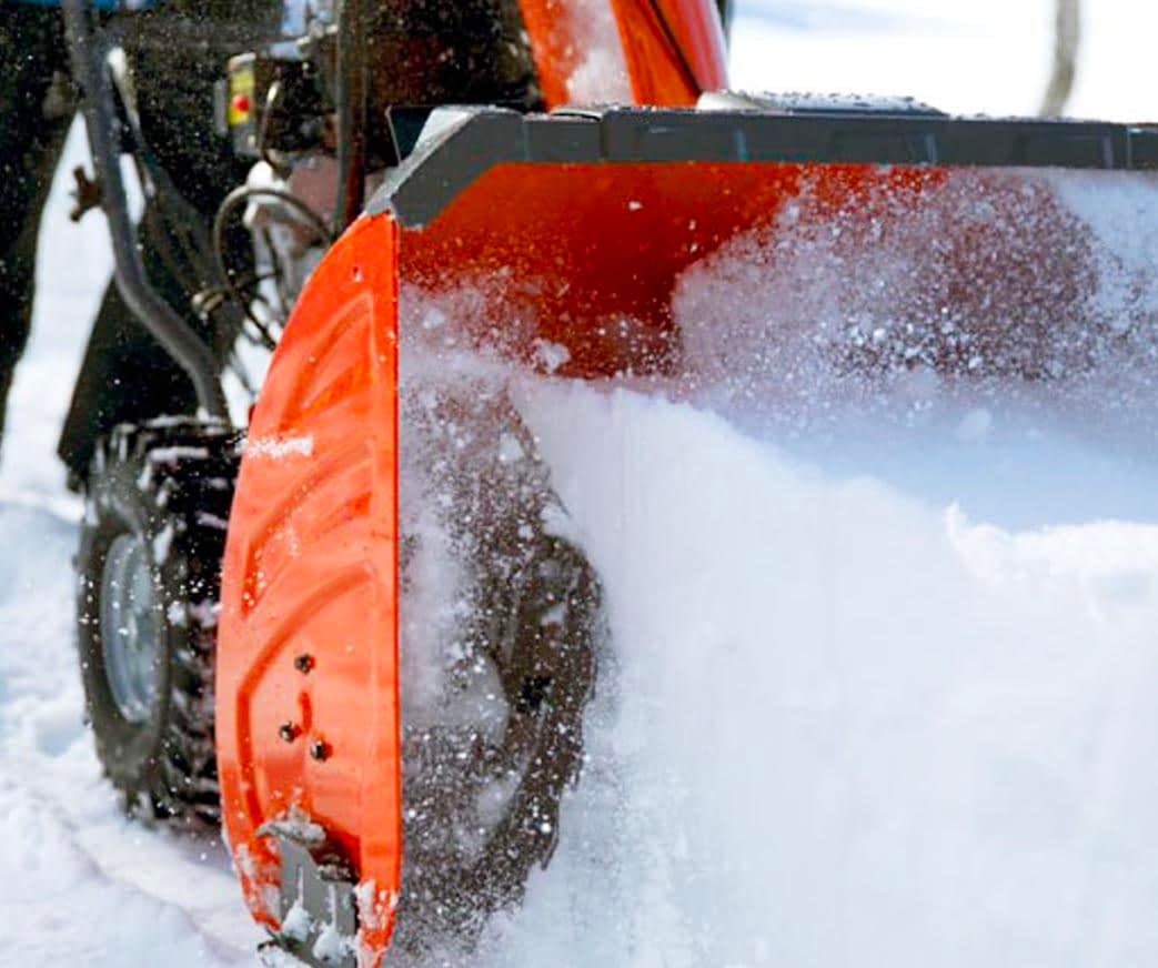 How To Use a Husqvarna Snow Blower