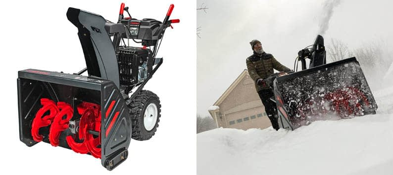 Troy-Bilt Electric Two-stage Commercial Snow Blower