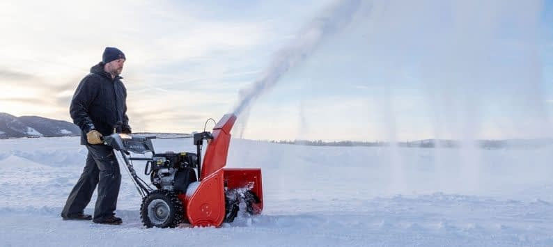 Starting Up Your Snow Blower
