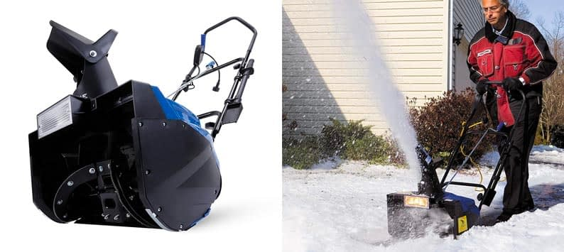 1. Snow Joe SJ623E Electric Single Stage Snow Thrower