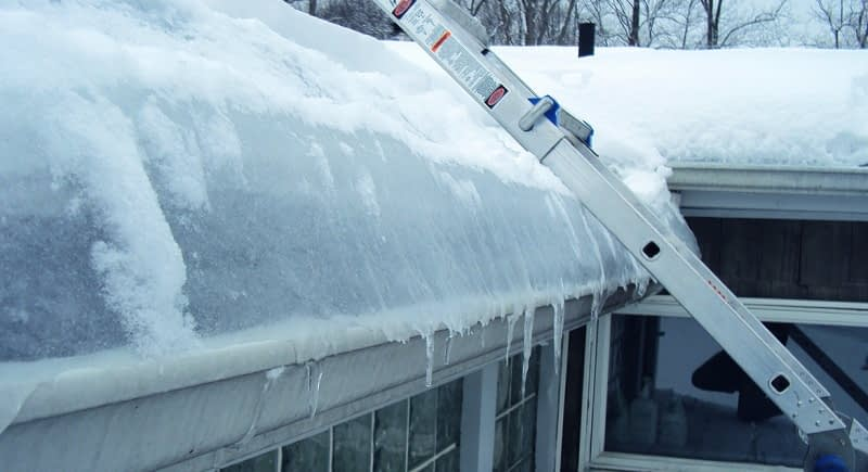 How to Get Rid of an Existing Ice Dam