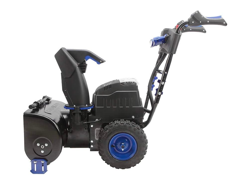 Cordless Snow Blower Side View