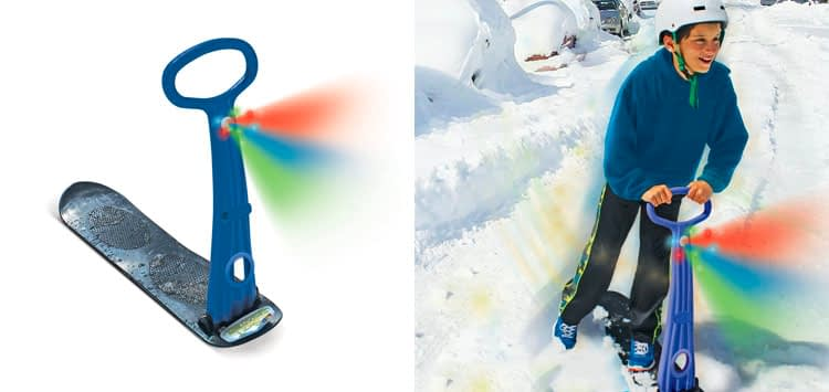 9. Geospace Original LED Snow Scooter