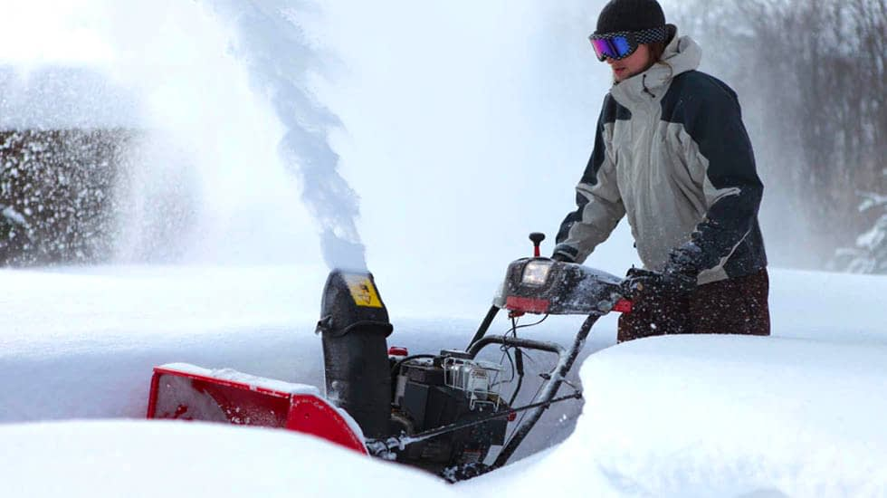 Snow Blower for Deep Snow
