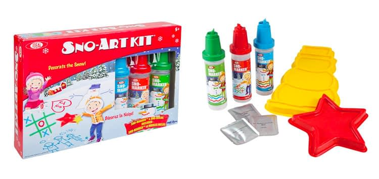 8. Ideal Sno Toys Sno-Art Kit