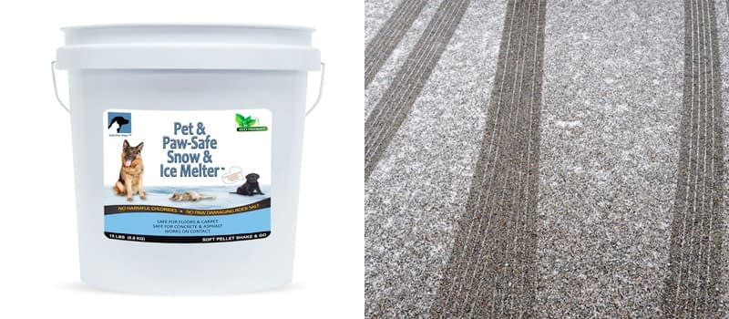 Best Salt-Free- Just for Pets Snow and Ice Melter