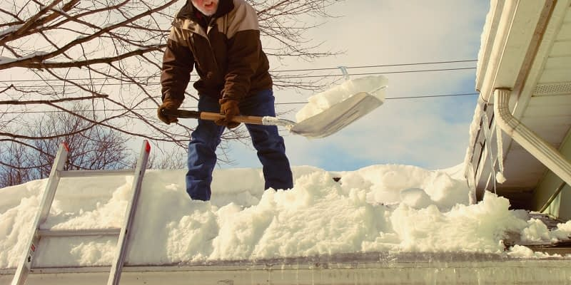 Hiring A Professional for Ice Dam Removal