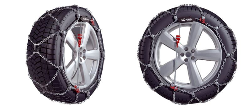 2. Konig XG-12 Pro Snow Chains Review