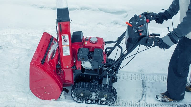 What-Is-A-Track-Drive-Snow-Blower