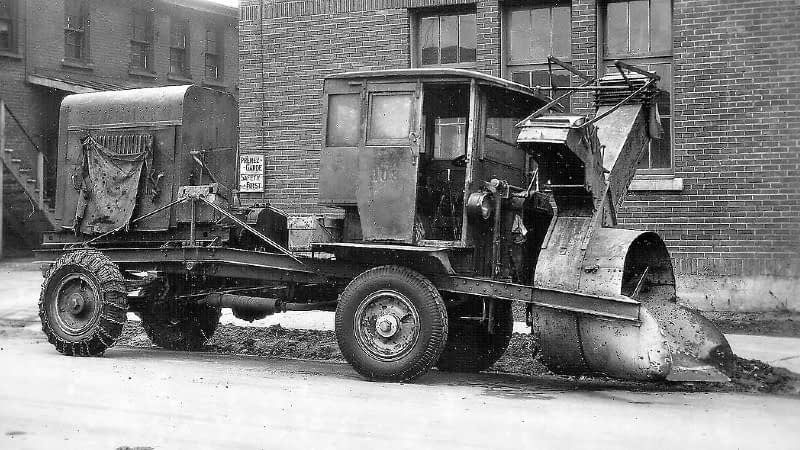 First Ever Snow Blower