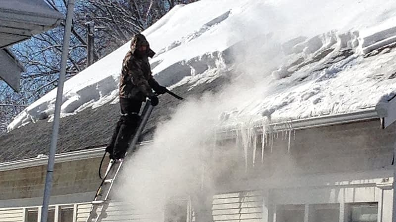 Removing Ice Dams Yourself Is It Possible