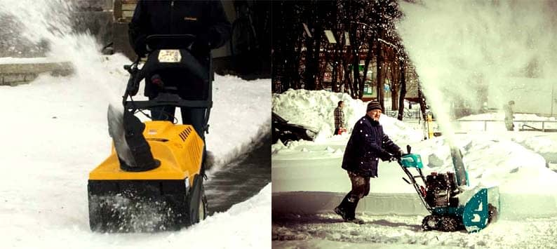 Single Stage versus Two-Stage Snow Blowers