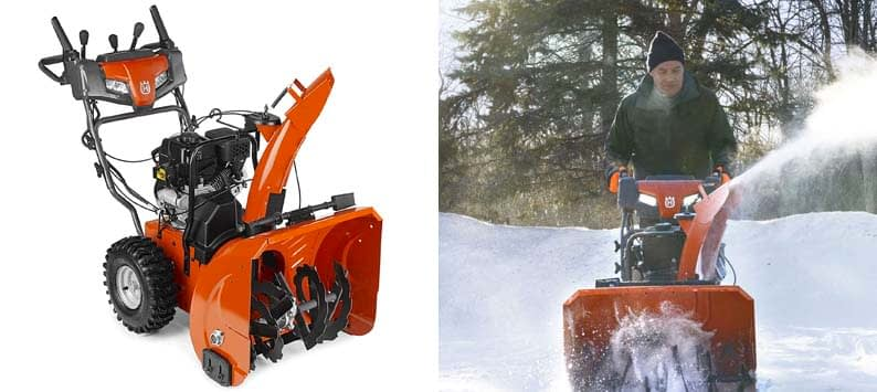 Husqvarna ST224 24-Inch Two-Stage Electric Start Commercial Snow Blower