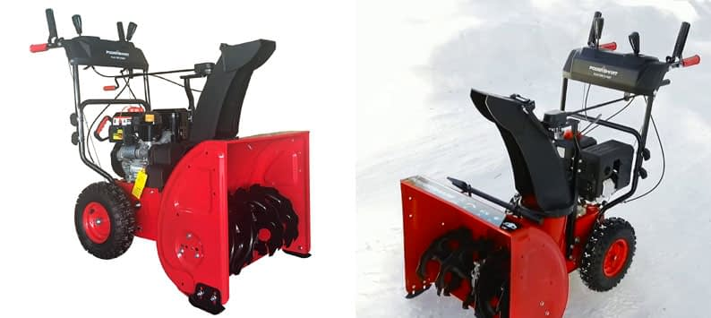 PowerSmart DB72024PA Two-Stage Snow Blower