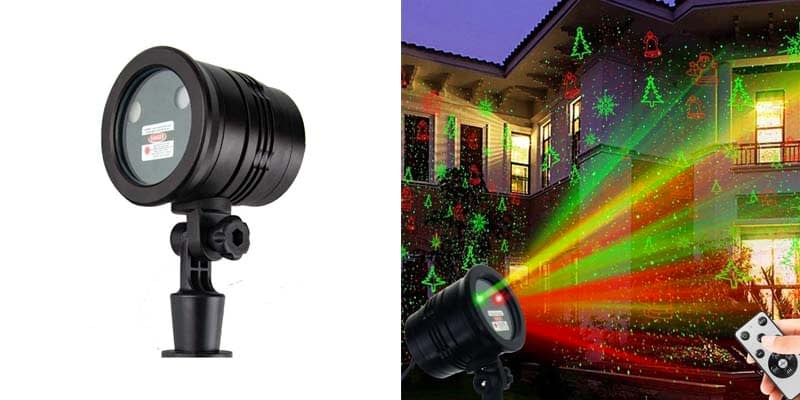 Christmas Laser Lights, YINUO LIGHT Waterproof Projector