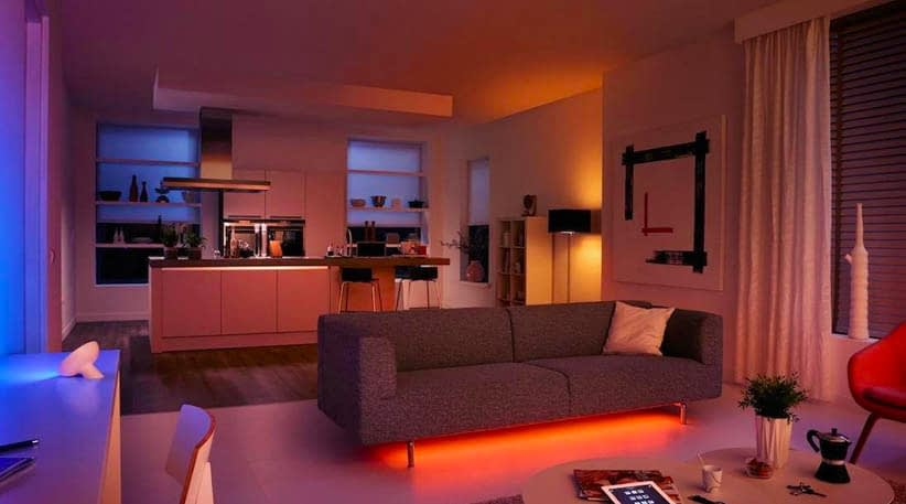 Home Ambience with Smart Lighting