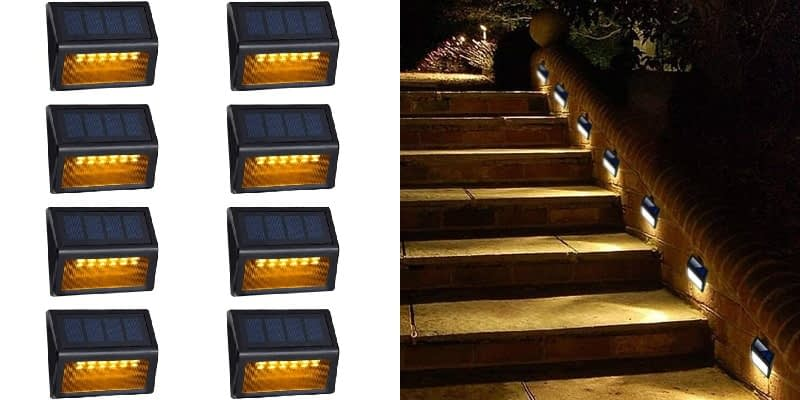 AMEI Solar Step Lights