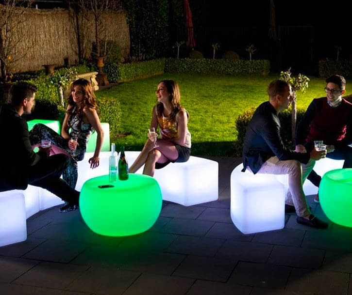 Outdoor LED Furniture