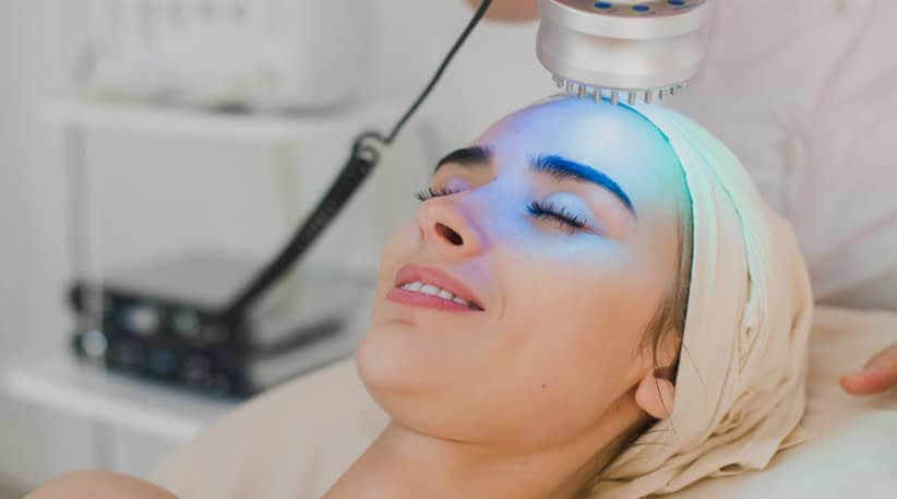 LED Light Therapy for Anti-Aging and Acne