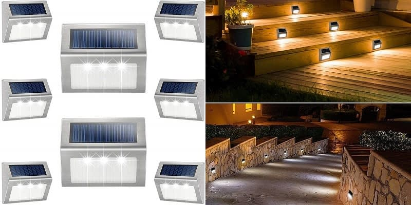 Kasun Solar Step Lights
