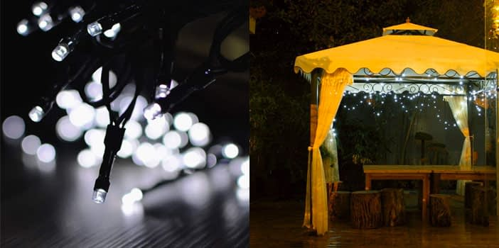 Lalapao 2 Pack Solar String Lights 72 feet
