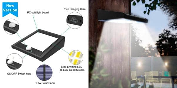2. Avaspot 2-Pack 30 LED Security Flood Light