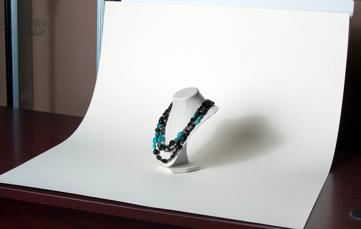 Using a Curved Backdrop - A Sweep
