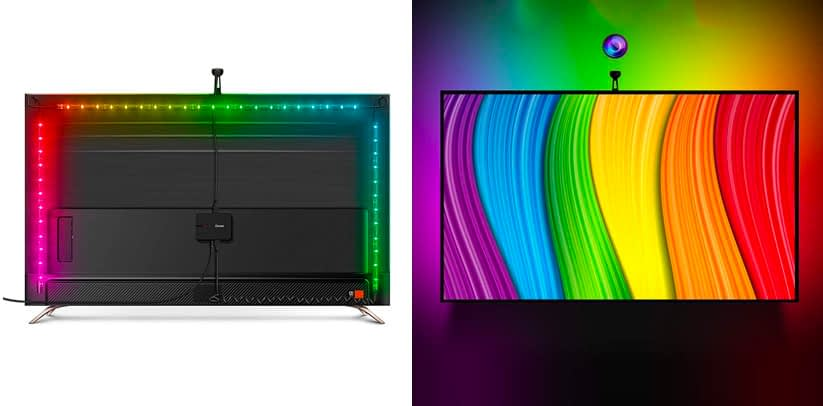 Govee WiFi TV Backlights Kit with Camera Review