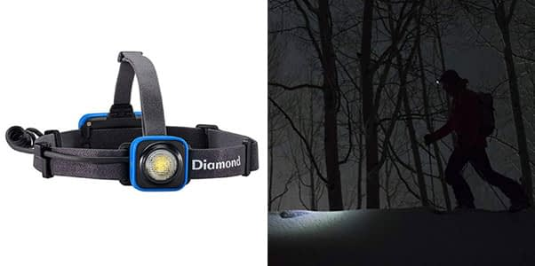 10. BLACK DIAMOND Sprinter Rechargeable LED Headlamp