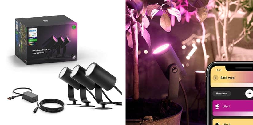 Philips Hue Lily White & Color Ambiance Outdoor Smart Spot light