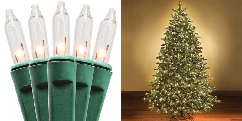 Holiday Essence Clear Musical Christmas Lights