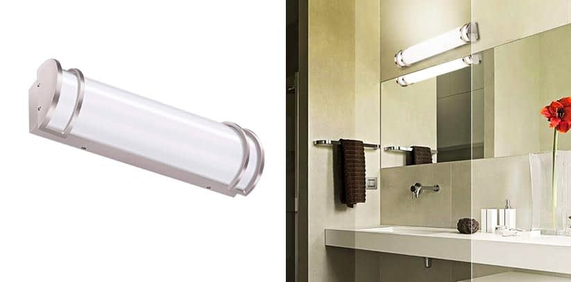 1. Best Overall- Hykolite 24-Inch Integrated LED Wall Sconce
